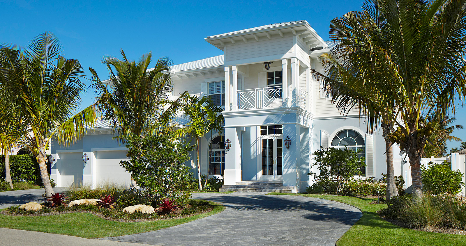 Luxury west indies style home for West indies house plans